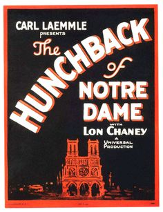 Hunchback of Notre Dame with Ed Norman, organ